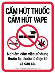 thói quen hút thuốc