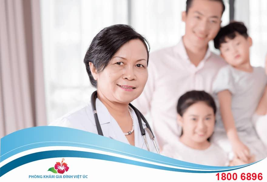 Bác sĩ Huỳnh Thanh Thủy phụ trách chuyên môn kỹ thuật phòng khám Gia đình Việt Úc