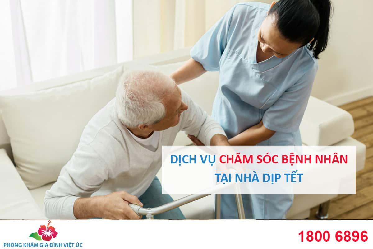 Dịch vụ Chăm sóc bệnh nhân tại nhà dịp Tết